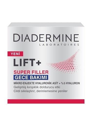 Diadermine Diadermine Lift+ Super Filler Gece Bakımı 50ml Renksiz